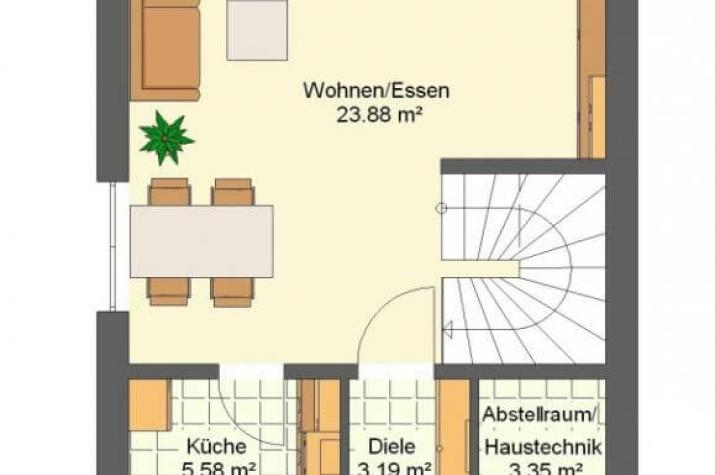 Kowalski Haus - LIZ 79 - grundriss eg