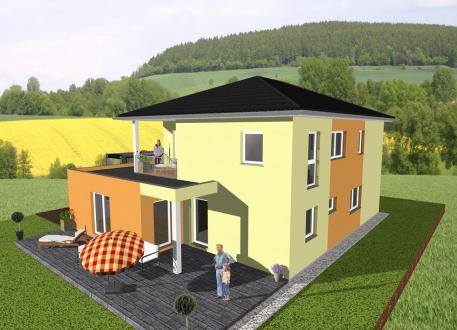 ... individuell geplant ! - Stadtvilla mit Gewerbeanteil- www.jk-traumhaus.de