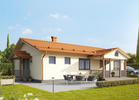 bis 75.000 € Aktionshaus Bausatzhaus 107 Kaufpreis 39.900.-- € inkl. MwSt.