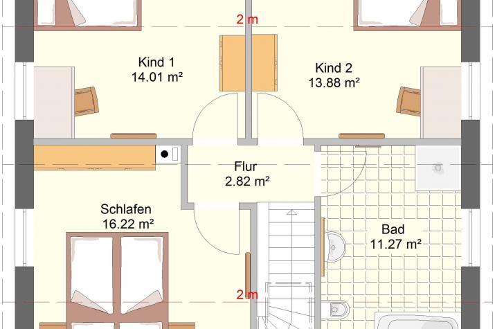 Aktionshaustyp Sonderedition Classico 120 SD90 - Dachgeschoss