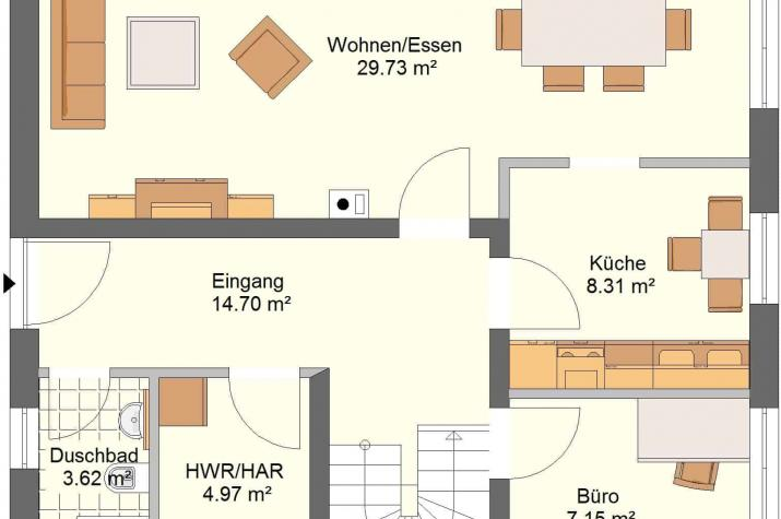 Aktionshaustyp Sonderedition Idealo 135 SD190 - Erdgeschoss