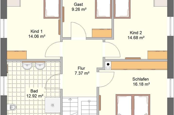 Aktionshaustyp Sonderedition Idealo 150 WD - Dachgeschoss