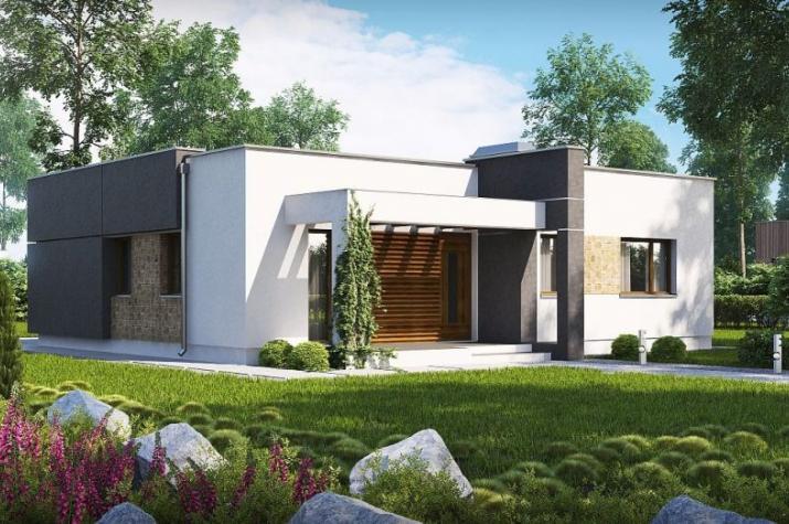 Ausbauhaus 105 -  Energieklasse A+ - Kaufpreis 39.580.-- € inkl. MwSt. - Ansicht