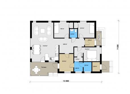 bis 50.000 € Ausbauhaus 109 - Kaufpreis 49.700.-- € inkl. MwSt.
