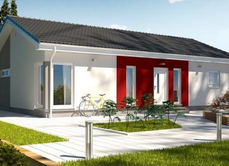 bis 100.000 € Ausbauhaus 115 - Energieklasse A+ - Kaufpreis 40.660.-- € inkl. MwSt.