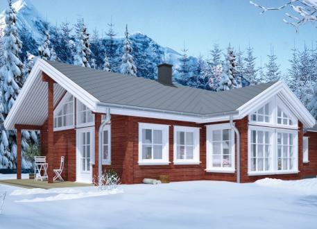 bis 100.000 € Ausbauhaus 119 - Energieklasse A+ - Kaufpreis 77.350.-- € inkl. MwSt.