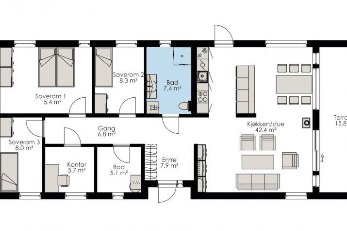 Ausbauhaus 123 - Sommer-Special - Kaufpreis 49.900.-- € inkl. MwSt.  -