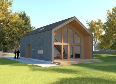 bis 200.000 € Ausbauhaus 128 - Energieklasse A+ - Kaufpreis 98.450.-- € inkl. MwSt.