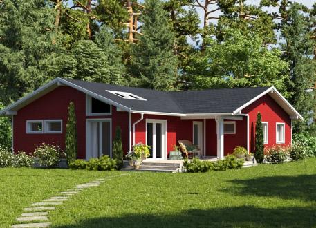 bis 100.000 € Ausbauhaus 132 - Energieklasse A+ - Kaufpreis 47.860.-- € inkl. 19% MwSt.
