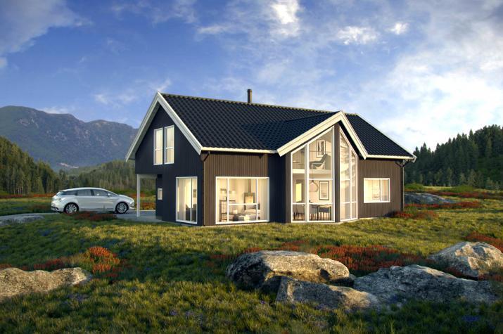 Ausbauhaus 148 - Energieklasse A+ - Kaufpreis 96.200.-- inkl. MwSt. - Ansicht 1
