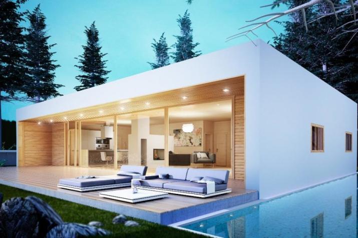 Ausbauhaus 150 - Energieklasse A+ -  Kaufpreis 43.180.-- € inkl. MwSt. - Ansicht