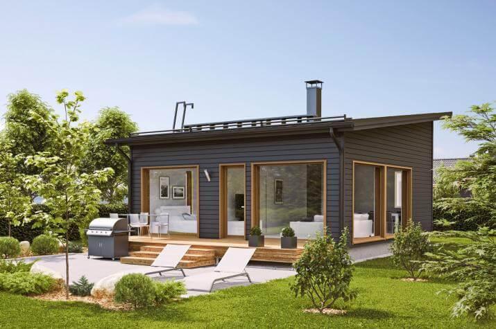 Ausbauhaus 53 - Energieklasse A+ - Kaufpreis 38.975.-- € inkl. 19% MwSt. - - Ansicht