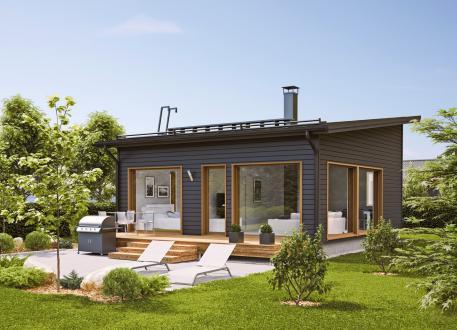 Bungalow Ausbauhaus 53 - KfW 55 -Kaufpreis 50.275.-- € inkl. 19% MwSt. -