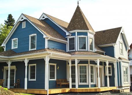 Niedrigenergiehaus BLUE
