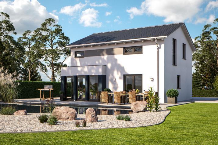 Bärenhaus Einfamilienhaus Esprit 117 - Esprit 117 Garten