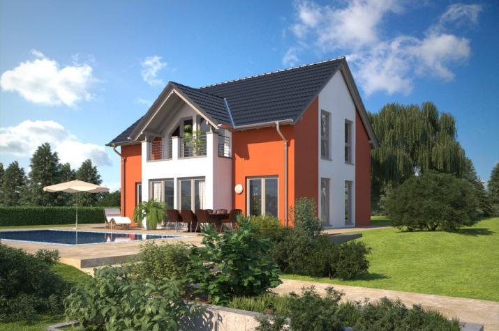 Bärenhaus Einfamilienhaus Esprit 149 - Esprit 149 Garten