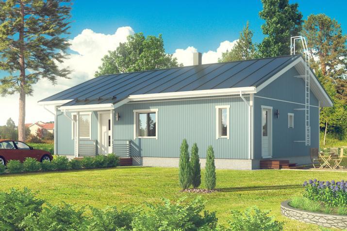 Bausatzhaus 106/1 - Kaufpreis 65.800.-- € inkl. 19% MwSt.  - Ansicht