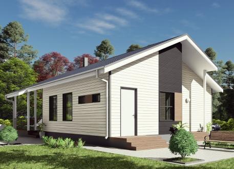 bis 100.000 € Bausatzhaus 109 - Kaufpreis 63.000.-- € inkl. MwSt.