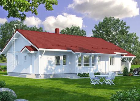bis 250.000 € Bausatzhaus 120/2 - Kaufpreis 85.830.-- € inkl. 19% MwSt.