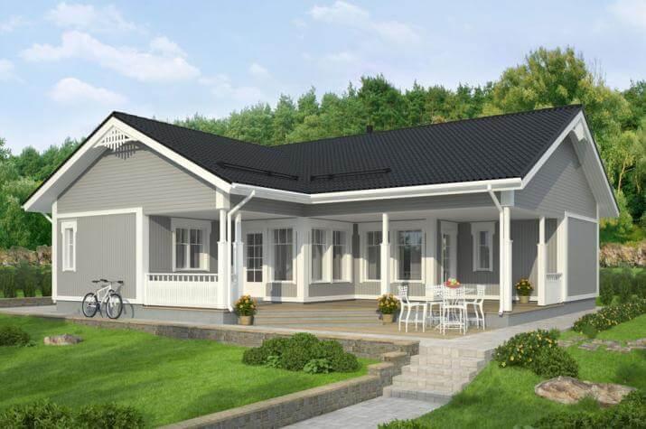Bausatzhaus 123 - Kaufpreis 95.050.-- € inkl. 19% MwSt. - Ansicht