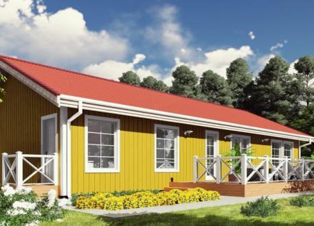bis 100.000 € Bausatzhaus 131 - Kaufpreis 71.000.-- € inkl. MwSt.