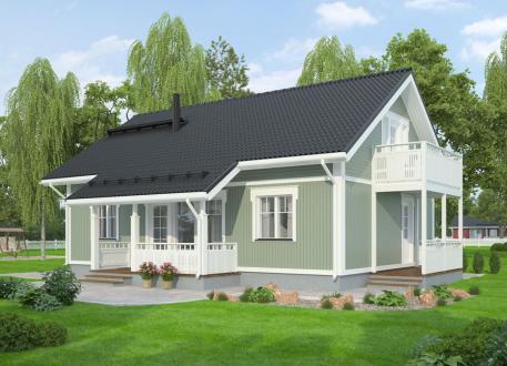 bis 250.000 € Bausatzhaus 132 - Kaufpreis 93.810.-- € inkl. 19% MwSt.