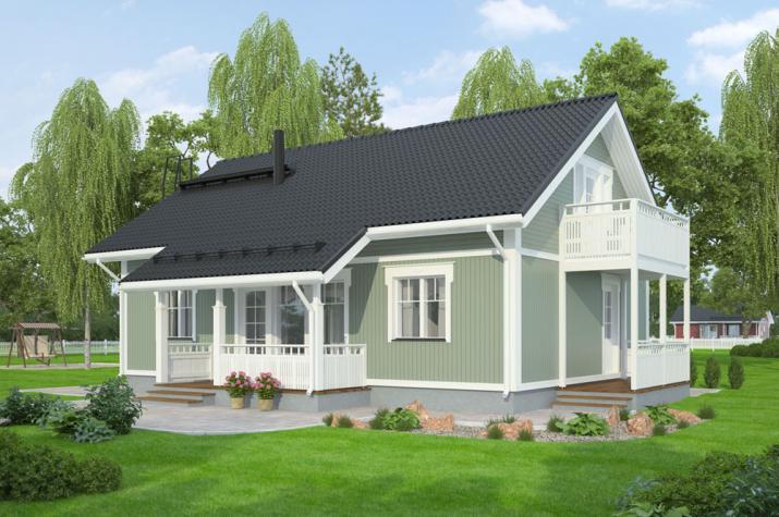 Bausatzhaus 132 - Kaufpreis 93.810.-- € inkl. 19% MwSt. - Ansicht
