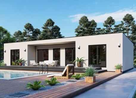 bis 100.000 € Bausatzhaus 144 - Kaufpreis 75.700.-- € inkl. MwSt.