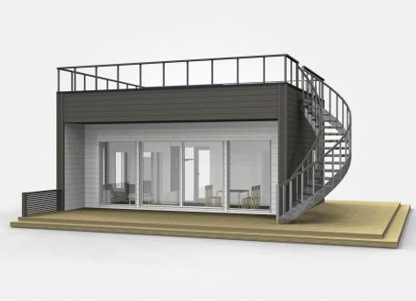 bis 100.000 € Bausatzhaus 44 - Kaufpreis 41.800.-- € inkl. MwSt.
