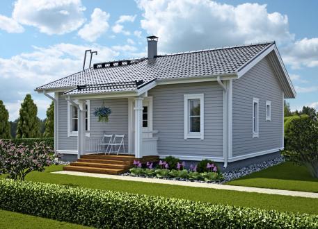 bis 100.000 € Bausatzhaus 67 - Kaufpreis 61.950.-- € inkl. MwSt.