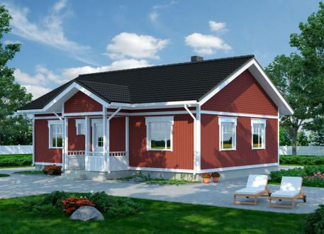 bis 175.000 € Bausatzhaus 88 - Kaufpreis 65.740.-- € inkl. 19% MwSt. -