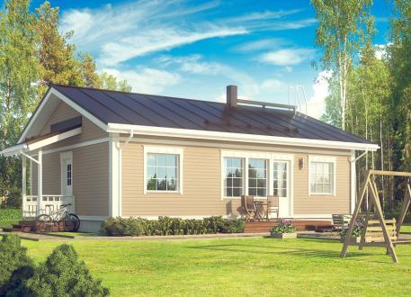 bis 175.000 € Bausatzhaus 90/1 - Kaufpreis 66.090.-- € inkl. 19% MwSt. -