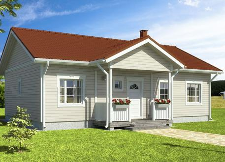 bis 100.000 € Bausatzhaus 94/2 - Kaufpreis 69.900.-- inkl. 19% MwSt.