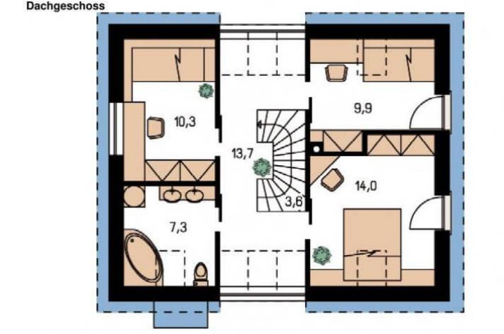CEF MODES 112 Lichthaus - grundriss dg