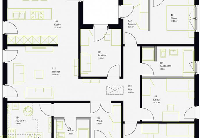 ComfortStyle 14.01 P - Erdgeschoss