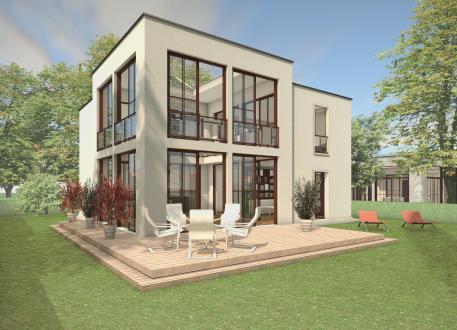 Frei planbare Häuser Das Atriumhaus ATR07-H02