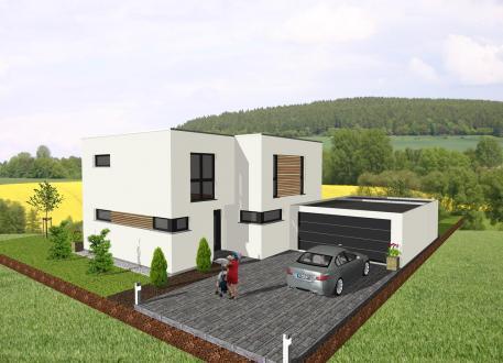 Holzhaus Das Bauhaus für die ganze Familie - www.jk-traumhaus.de