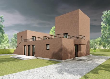 Einfamilienhaus Das Geschwisterhaus 2 in 1 H02