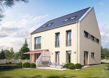 Doppelhaus Doppel- / Reihenendhaus S150