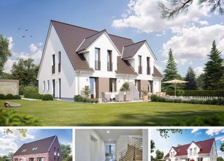 Zweifamilienhaus Doppel- / Reihenendhaus S361 in NRW und Hessen
