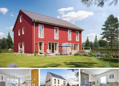 Doppelhaus Doppel- / Reihenendhaus S451