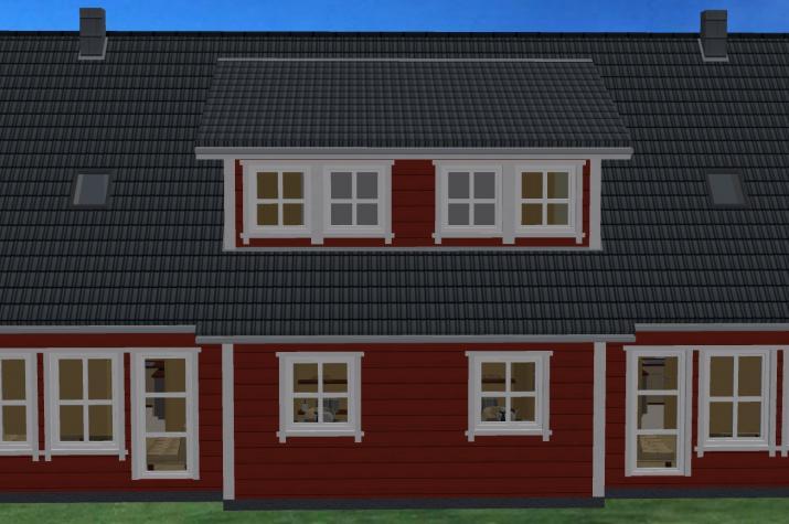 Doppelhaus Franz Holz - Ansicht Franz