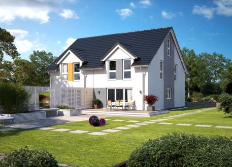 bis 200.000 € Doppelhaushälfte - Klassik - schlüsselfertig