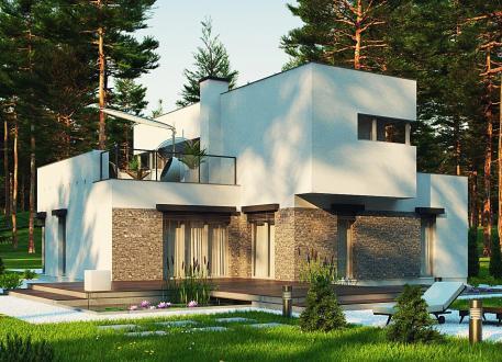 Holzhaus EASY 4 Family 118.245