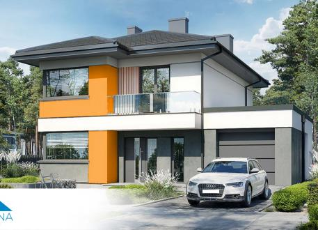 Stadthaus EASY 4 Family Qaud 129 mit Garage