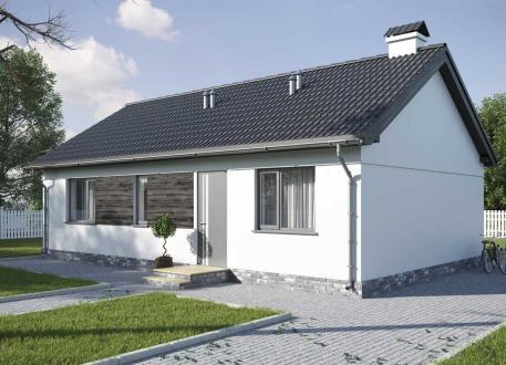 Einfamilienhaus EASY Bungalow 64 inkl. Bodenplatte