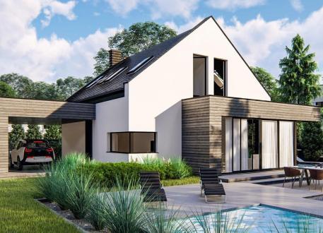 bis 200.000 € EASY HOME 120 + Carport