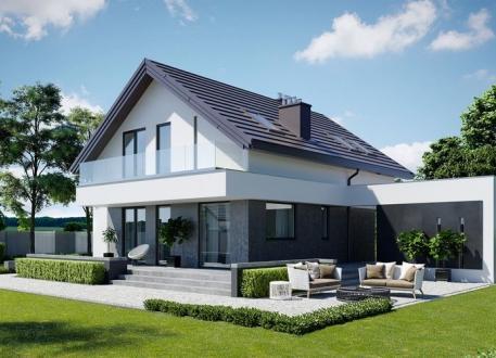 Einfamilienhaus EASY Home 135 inkl. Bodenplatte