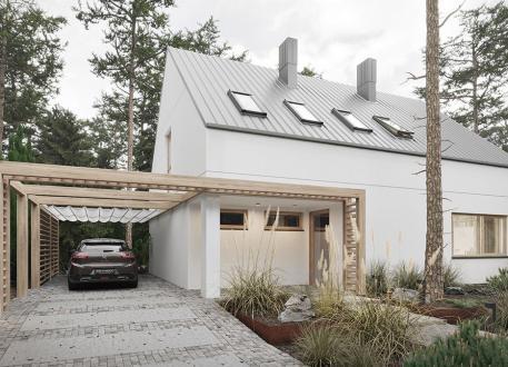 Holzhaus EASY Home 152 inkl. Bodenplattte