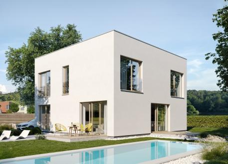 Einfamilienhaus EASY Kubus 160 ab OK/Bodenplatte